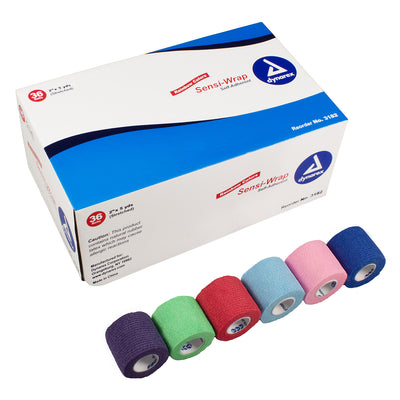 "Sensi Wrap Self Adhering Bandage in Assorted Colors - 2""x 5 yds"