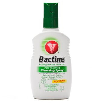 Bactine Liquid Squeeze Bottle - 5oz