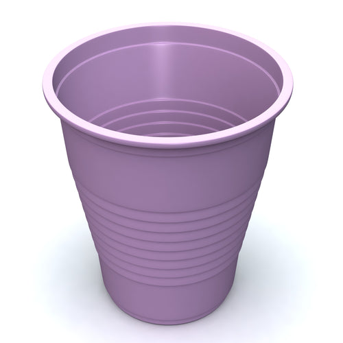 Plastic Cups in Lavender - Sleeve of 50