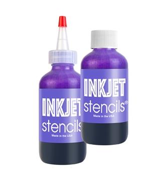 InkJet Stencil Bottle - 4oz