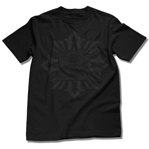 Black On Black Bishop Tee