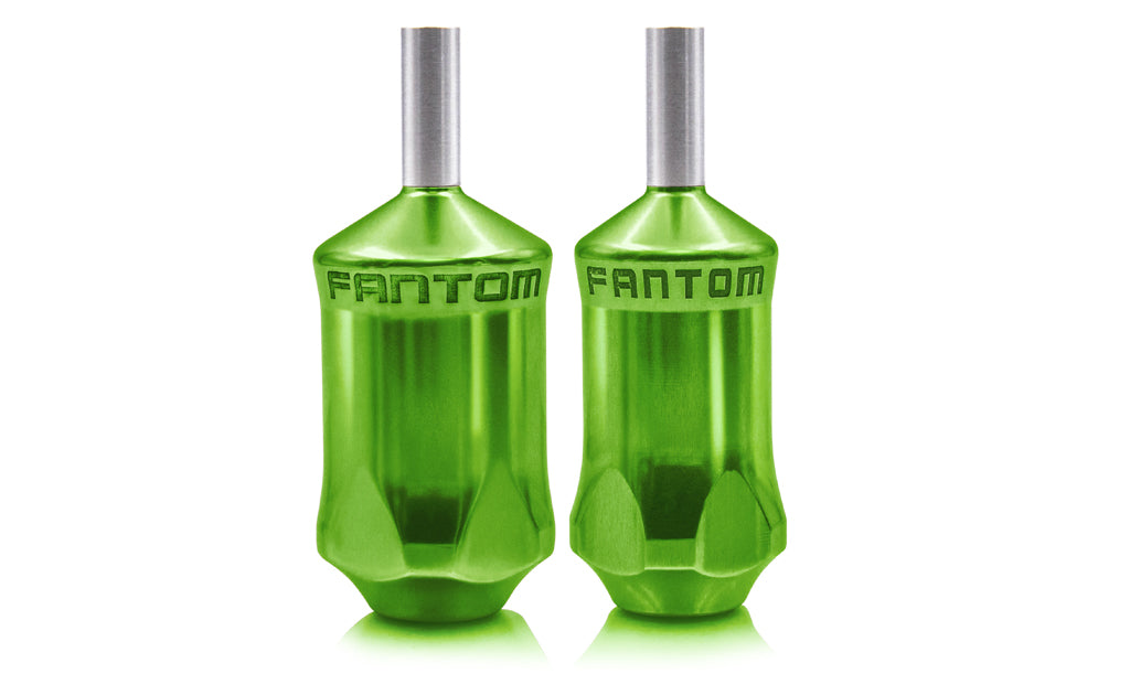 Fantom V2 Aluminum Cartridge Grip - Emerald Green