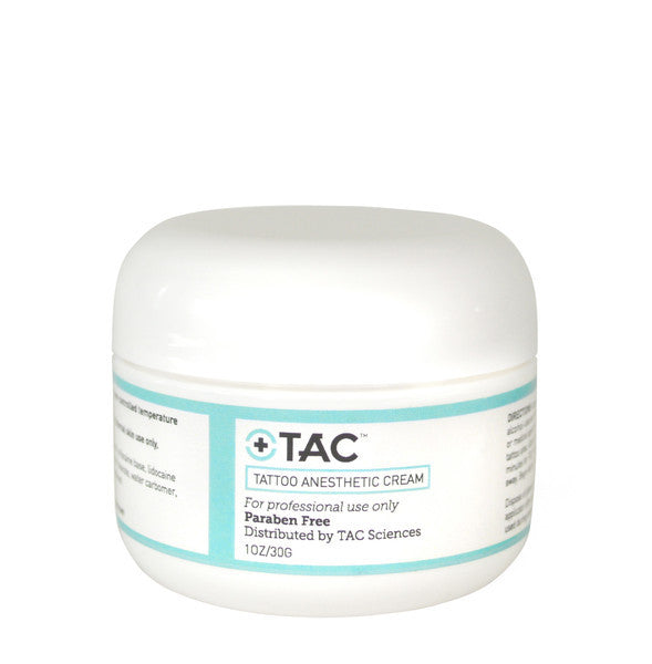 TAC Tattoo Anesthetic Cream - 1oz