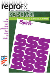 "Spirit Green Sheet Carbon - 8.5""x 11"""