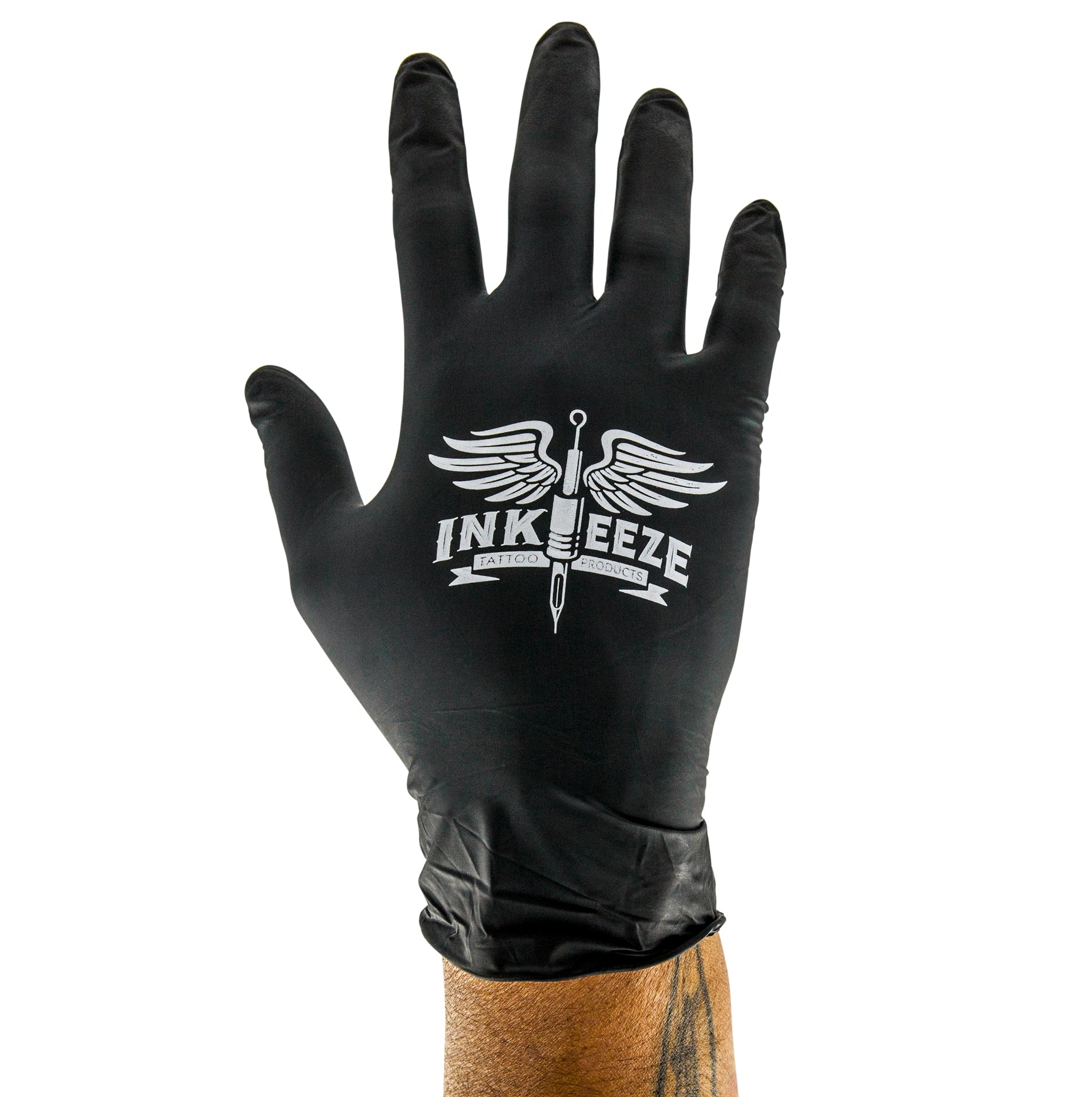 Inkeeze - Black Nitrile Gloves
