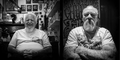 TATTOO MAN — The Story of Good Time Charlie's