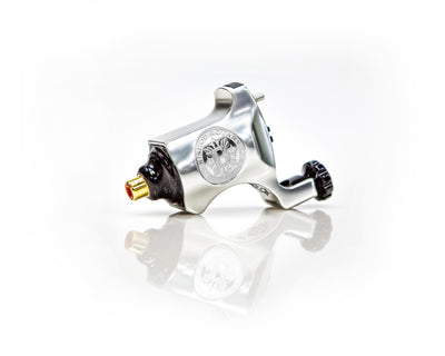 Platinum Silver - Bishop Rotary Tattoo Machine