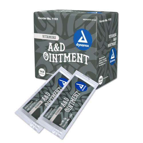 Vitamin A&D Ointment - Full Box of 5 Gram Foil packs