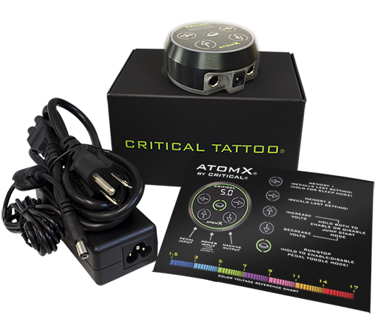 ATOMX - Critical Power Supply Black
