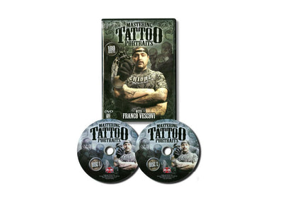 DVD - Mastering Tattoo Portraits With Franco Vescovi