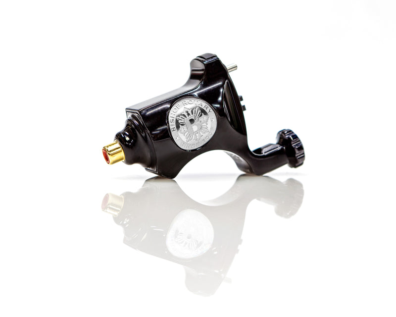 Polished Black - Bishop Rotary Tattoo Machine