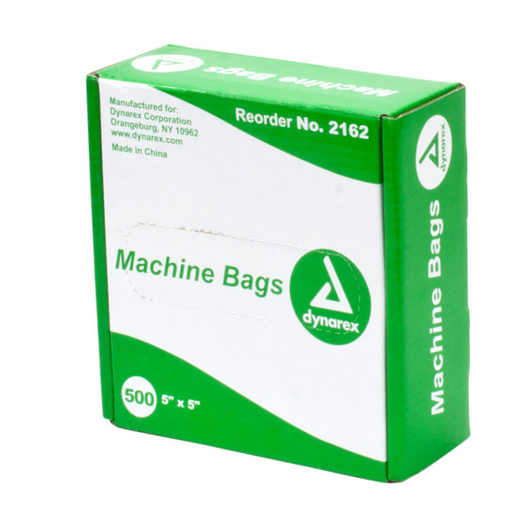 "Clear Machine Bags - 5"" x 5"""