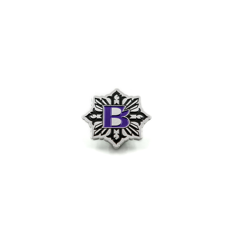 Bishop Logo Pins