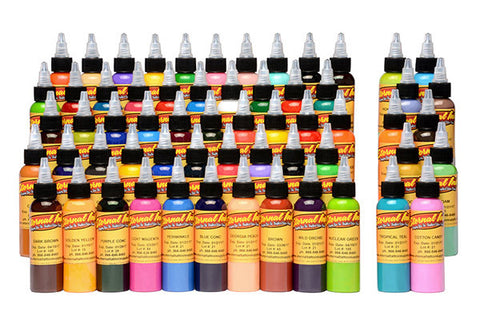 Eternal Tattoo Ink - 60 Color Gold Set