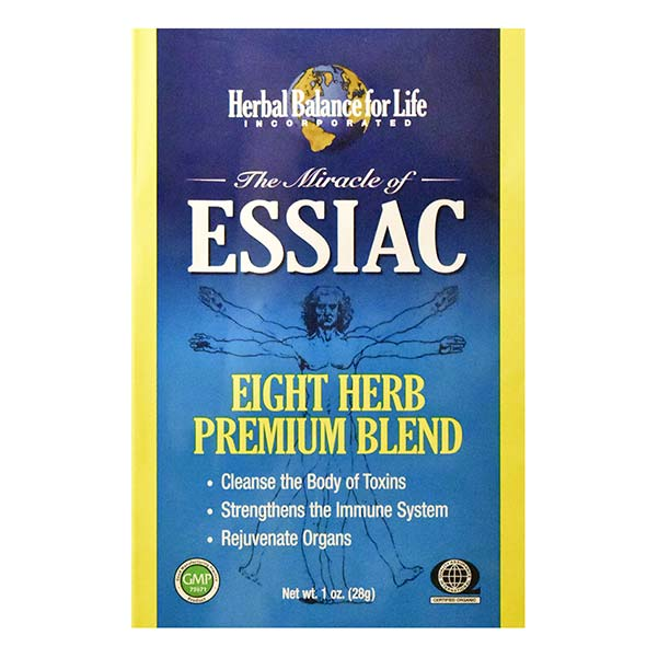 Buy One 8 Pack Essiac 8 Herb Tea Powder for Brewing, Get One 1/2 Price
