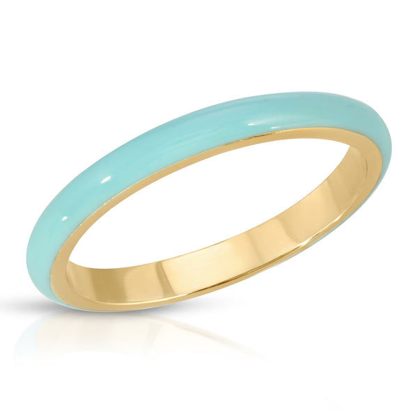 No Bad Days Ring in Aqua