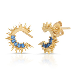 Sunset Voyage Stud in Blue