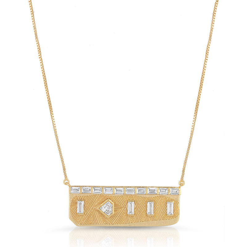Goldie Necklace in Clear