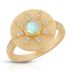 Stargazer Ring in Opal