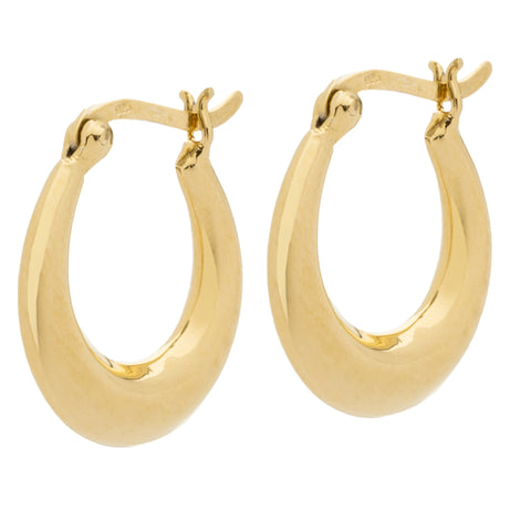 Monaco Circle Earring - Gold