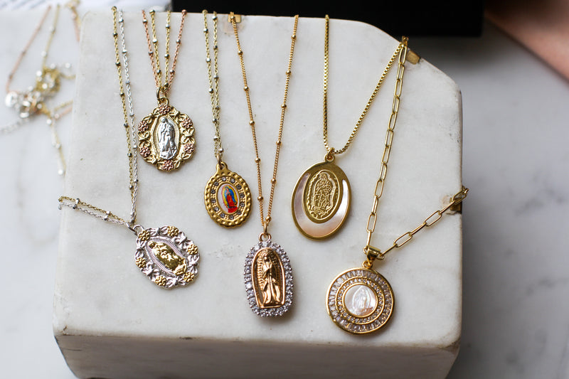Mother Mary Necklace