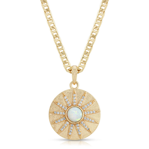 Stargazer Necklace in Opal