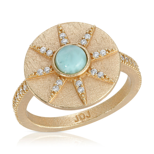Stargazer Ring in Larimar