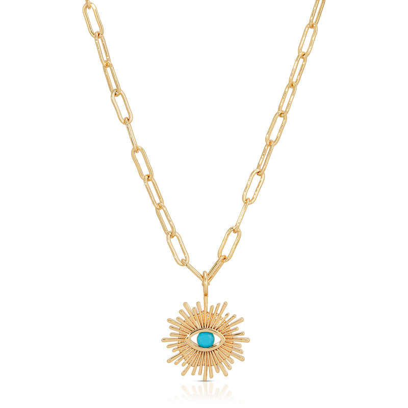 Grand Voyage Necklace in Turquoise