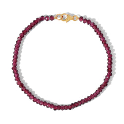 Blair Gemstone bracelet in Garnet