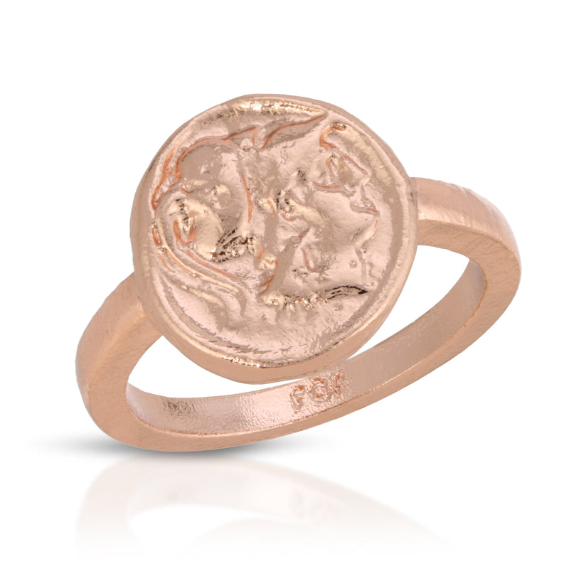 The Fortune Ring in Rose Gold