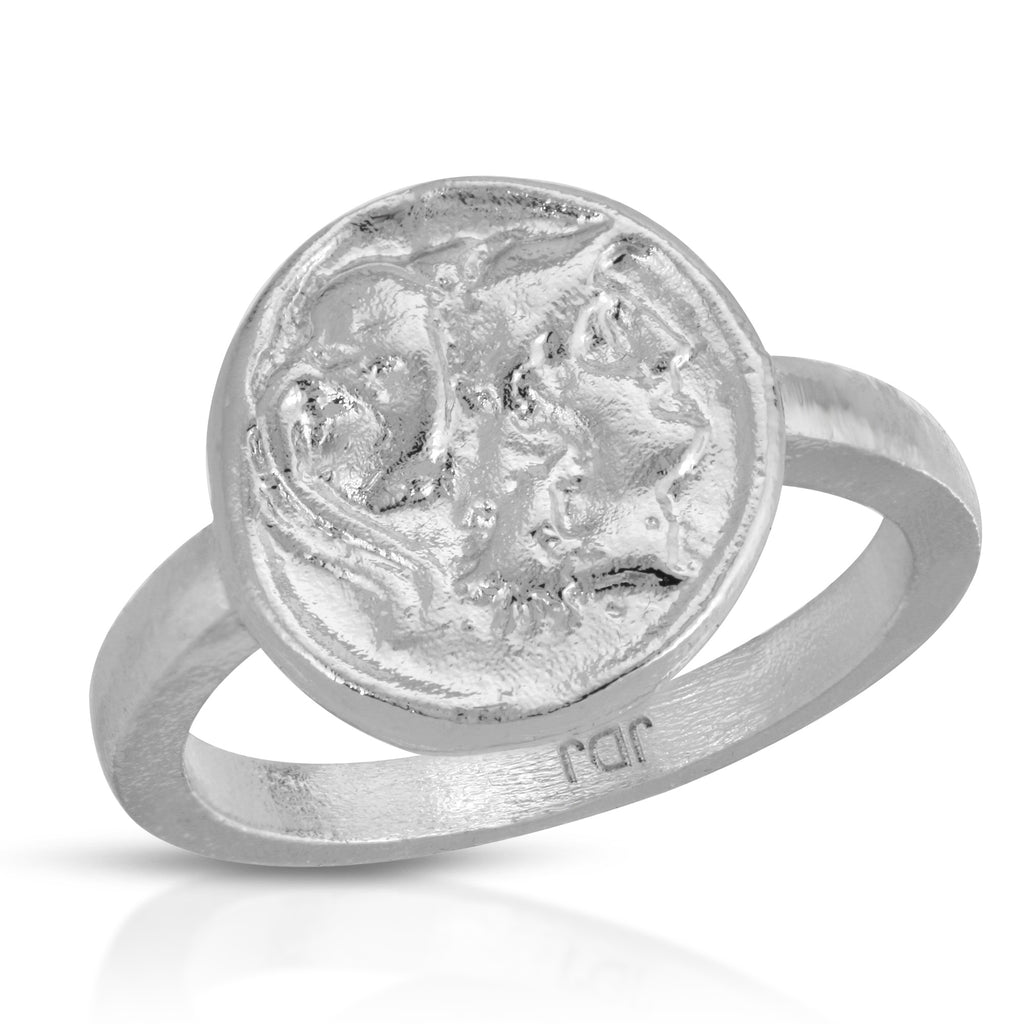 The Fortune Ring in Silver