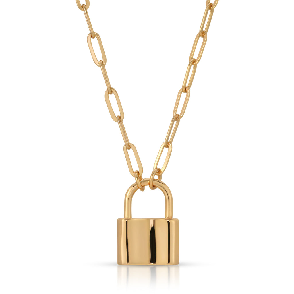 Monaco Lock Necklace