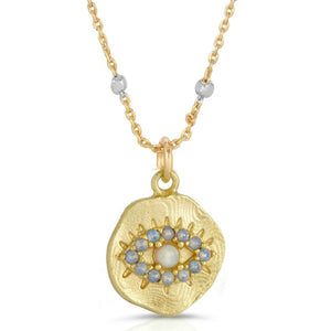 Daydreamer Pendant Necklace - OPAL