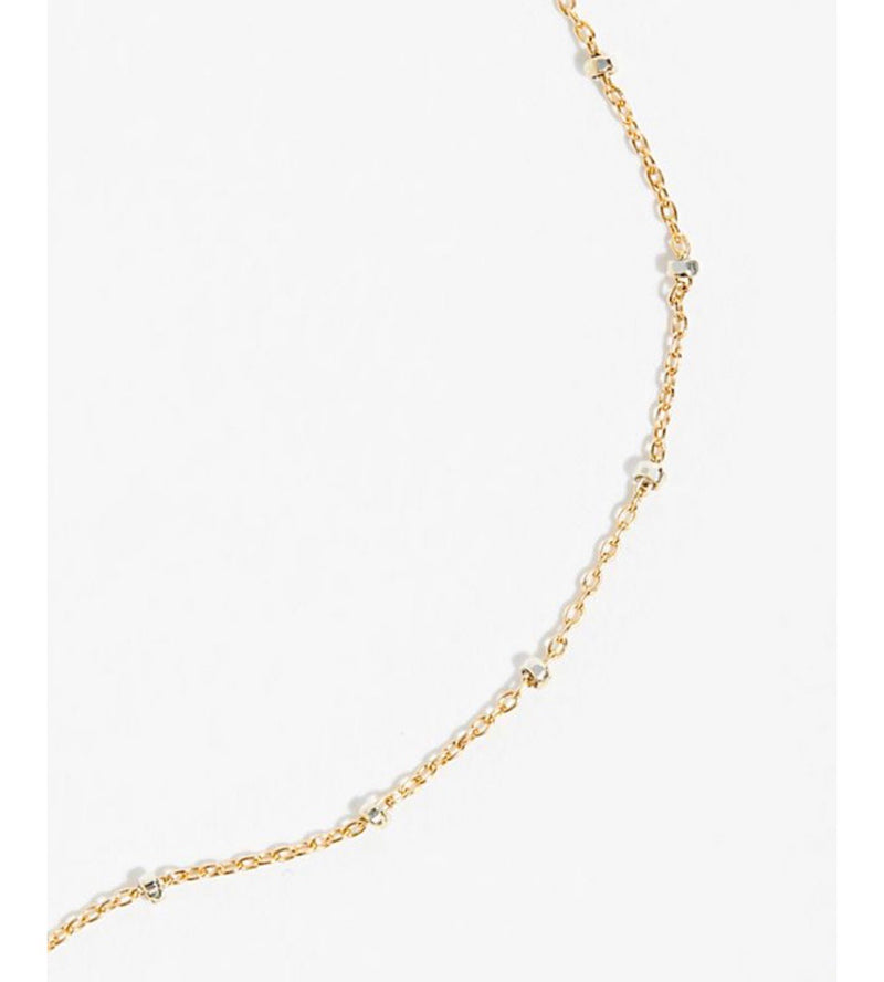Sparkle Choker in Gold/Silver