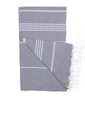 English Grey Classic Hamam Towel