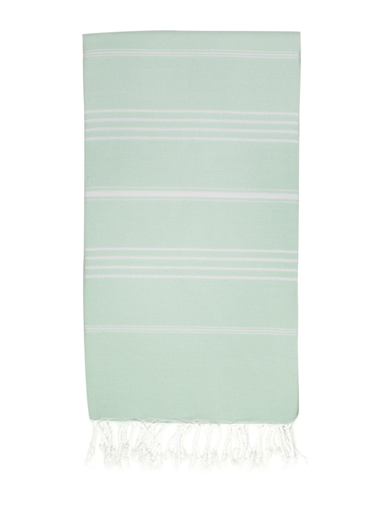 Mint Dark Classic Hamam Towel