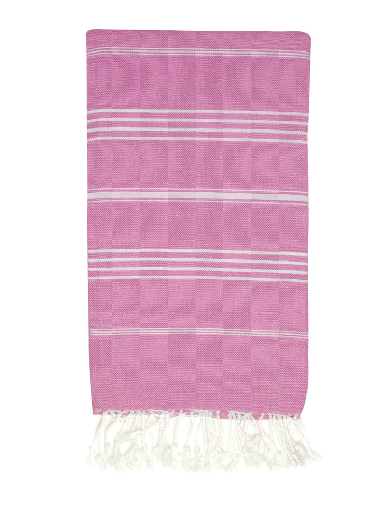 Flamingo Light Pink Classic Hamam Towel