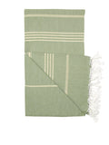 Golden Sage Green Classic Hamam Towel