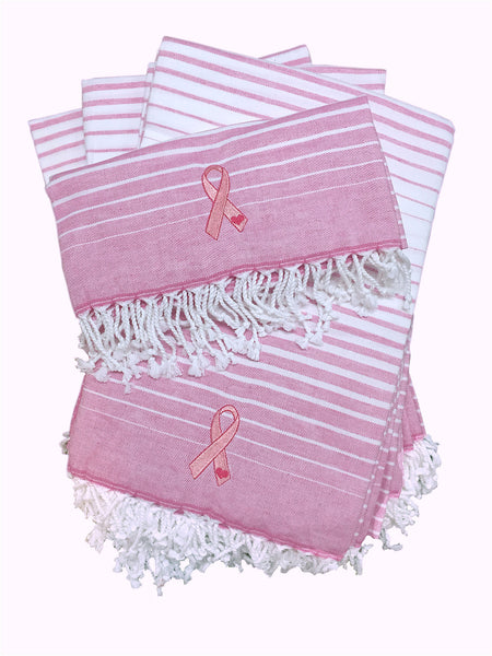 Pink Ribbon Towel