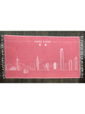 HK Skyline Towel