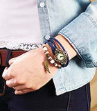 Leather Charm Bracelet Watches - All In One Place With Us - 4
