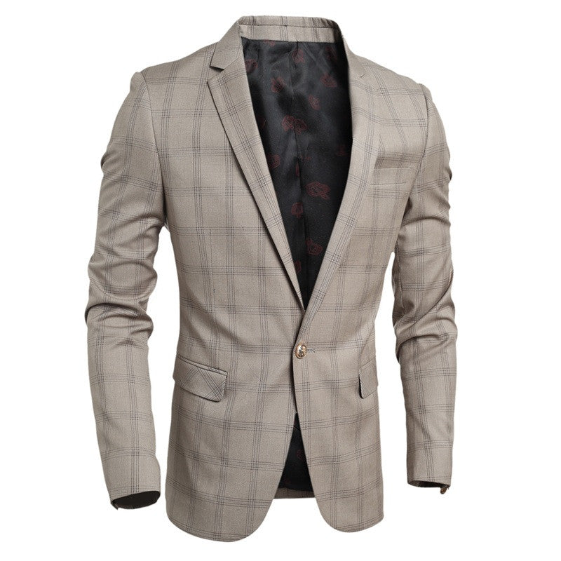 Men's Casual Slim Fit Buckle Blazer - All In One Place With Us - 2