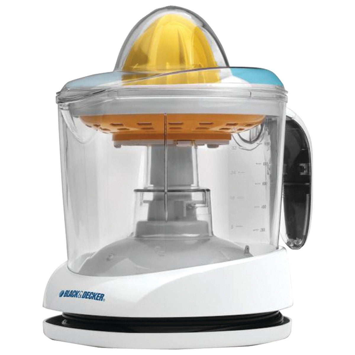 Black & Decker CJ625 30-Watt 34-Ounce Citrus Juicer, White - All In One Place With Us - 5