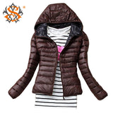 Fashion Casual Windbreaker Winter Women's Jacket - All In One Place With Us - 6