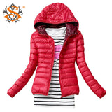 Fashion Casual Windbreaker Winter Women's Jacket - All In One Place With Us - 2