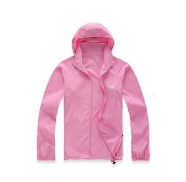 Men & Women Waterproof Windproof Hiking Jacket Camping Jacket Style Fashion Coats Quick-Drying Windbreak Jackets Man 15Colors - All In One Place With Us - 11