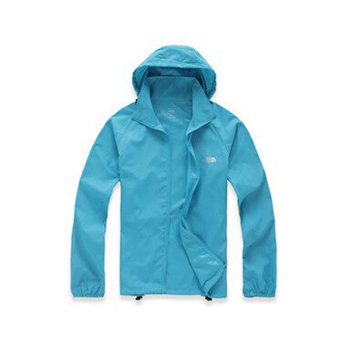 Men & Women Waterproof Windproof Hiking Jacket Camping Jacket Style Fashion Coats Quick-Drying Windbreak Jackets Man 15Colors - All In One Place With Us - 12