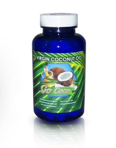 Virgin Coconut Oil Soft Gels 2000 mg/ 60 softgels - FREE SHIPPING - All In One Place With Us