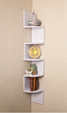Laminated Veneer Corner Wall Mount Shelf - All In One Place With Us - 1