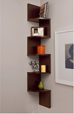 Laminated Veneer Corner Wall Mount Shelf - All In One Place With Us - 2